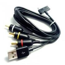 Cable Audio -video+ Usb Galaxy Tab P1000/ P1010 Con Despacho