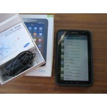 Tablet Samsung Gt P1010 Con Funda Y Accesorios En Su Caja