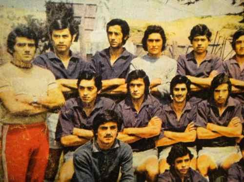 San Antonio Portuario Unido Formacion 1973 Revista Estadio