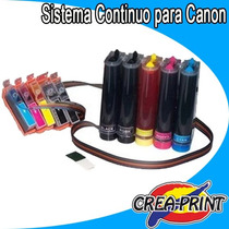 Sistema Continuo Para Canon Pixma Mp980 Mp990 Mx860
