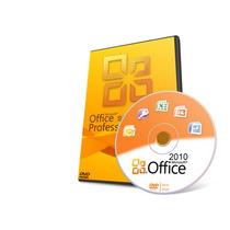 Office 2010 Pro. Licencia Digital Original Para 3 Equipos.