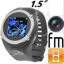 Reloj Telefono Mq988 Celular Mp4 Mp3 Camara Radio Fm Video