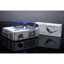 Lentes 3d Activos Luxcine ( Gafas ) Para Proyector Dlp 3d