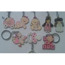Llaveros Recuerdo - Souvenirs * Baby Showers - Bautizos
