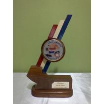 Recuerdo Copa América Paraguay 1999 En Madera