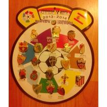 Pines Metálicos Fútbol Liga Española