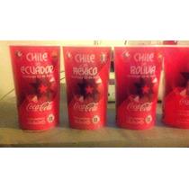 Vasos Coca Cola Copa America Chile 2015 Estadio Nacional