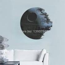 Estrella De La Muerte Sticker Decoración Muralla