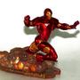Iron Man Marvel&subs Estátua De 9x7 Cm. Buen Estado Original