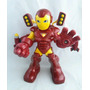 Iron Man Super Hero Squad Figura Con Rocket Boost Sonidos