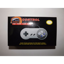 Control Para Super Nintendo Nuevo