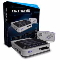 Consola Retron 5 Hd Nes, Snes,gameboy,genesis 5 En 1 - Wisat