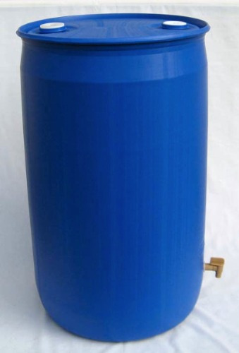 Tambor bid n plastico con capacidad 228 lts con llave for Precio de estanque de agua 1000 litros