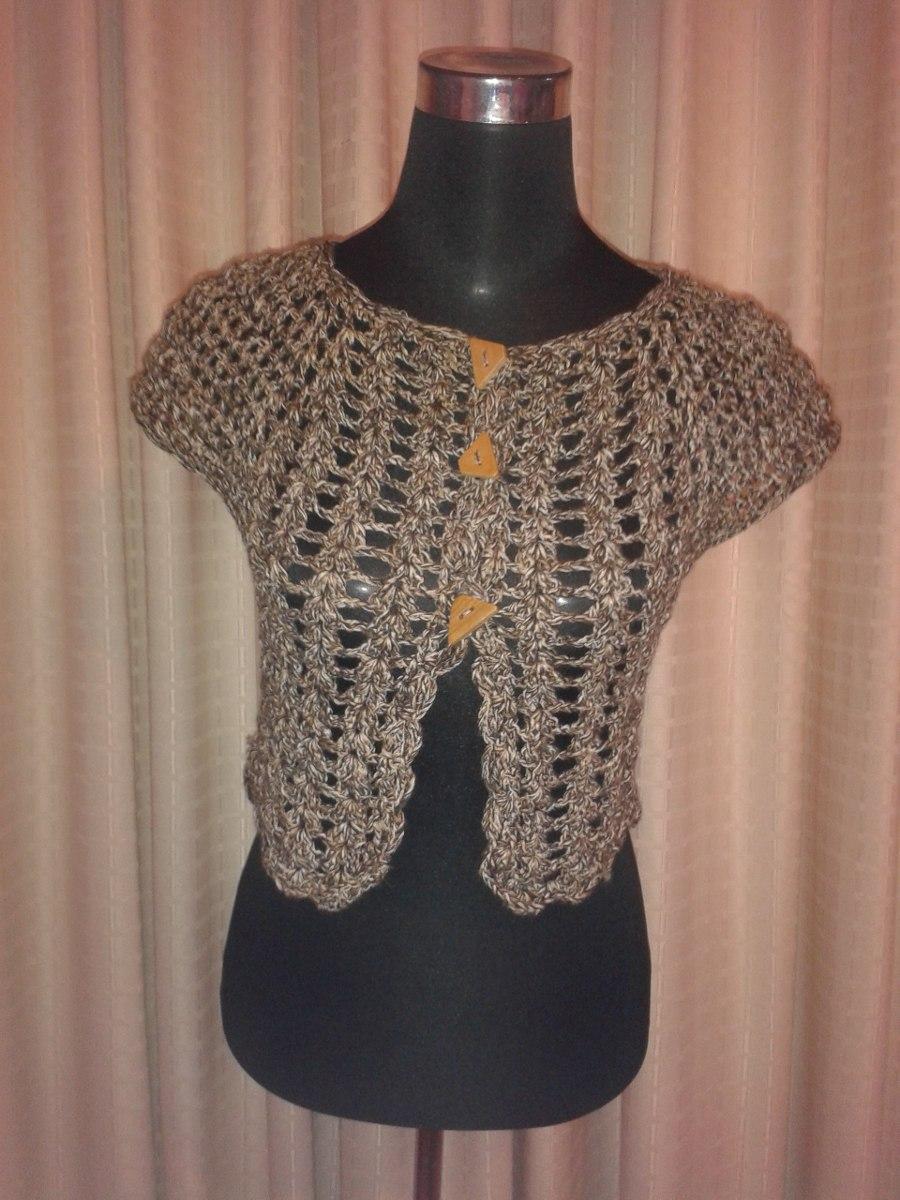 Tejido crochet artesan chalecos tejidos genuardis portal - Bolsos tejidos a crochet ...