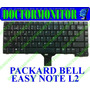 Teclado Notebook Packard Bell Easy Note L2- Usado