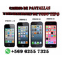 Reemplazo De Pantalla De Iphone 4, 4s, 5, 5c, 5s, 6, 6plus