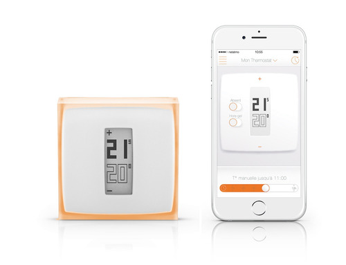 Termostato para calefacci n controlado por wifi netatmo - Termostato para calefaccion ...