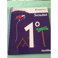 Libro De Sociedad , 1 Basico Bicentenario, Edit. Santillana