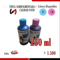 Tinta 250 Ml Calidad Foto Semipigmentada - Colores Light