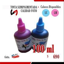 Tinta 100 Ml Calidad Foto Semipigmentada - Colores Light