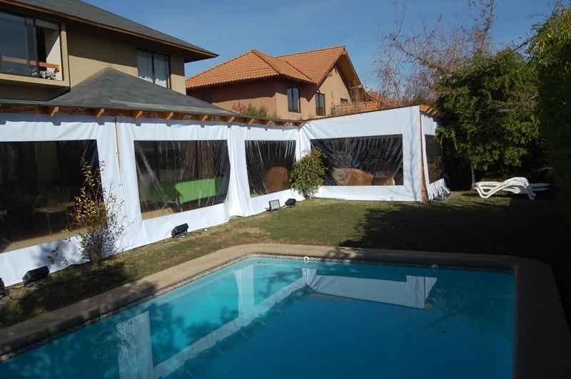 Toldos cortinas panoramicas terraza quinchos en - Precio toldos terraza ...