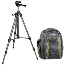 Kit Canon Mochila 200eg + Tripode 300 Photo&video (nuevo)