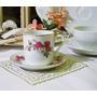 Antigua Tacita De Café De Porcelana China Años 70