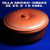 Olla Micro-ondas 25x10 Cm. Conserva Comida Caliente O Fria.-