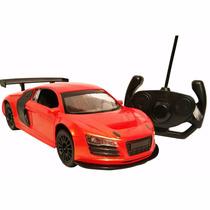 Auto Radio Controlado R/c Escala 1:16 Con Luz ( Audi R8)