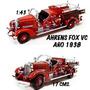 Camion Bomberos Ahrens Fox Vc 1938 De 17 Cm. 1:43 Nuevo Caja