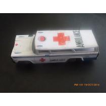Antiguo Juguete De Lata Ambulancia Japon Shudo (c2