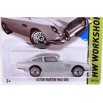 Aston Martin 1963 Db5 James Bond 007 Goldfinger Hotweels