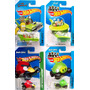Pack Hot Wheels Red Bird - Homer - Minion - Jetson Capsule