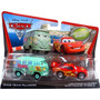 Disney Pixar Cars Fillmore Y Rayo Mcqueen