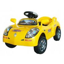 Auto Araña A Pedal Amarillo