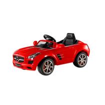 Auto Para Niños A Batería Mercedes-benz Sls Amg Rojo