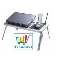 Mesa Para Notebook O Netbook Con Patas Y Ventilador E-table