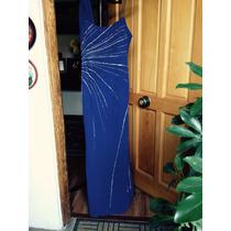 Vestido De Fiesta Color Azulino Talla 40/42