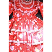 Vestido Niñita Huasita, Talla 6