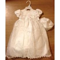 Vestido Bautizo Bebe Niñita Importado Nuevo