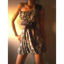 Vestido De Fiesta Juvenil Y Casual., Modelo Talla S-m...