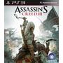 Assassins Creed 3 Ps3 Playstation 3