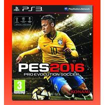 Pes 2016   Pro Evolution Soccer 2016, Ps3, Digital !oferta¡