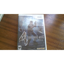 Resident Evil 4 Wii Sellado.-