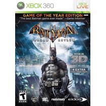 Batman Arkham Asylum Game Of The Year Semi-nuevo Xbox 360