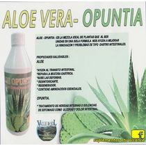 Aloe-vera Con Opuntia 1lt (valle De Sol)
