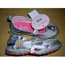 Zapatillas Niñita Barbie En N° 27 Y 29 Nuevas, Lindo Diseño