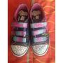 Zapatillas Niña N 35 Con Luces