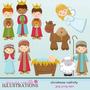 Kit Imprimible Navidad Clipart Imagenes Cod 131 | KITIMPRIMIBLE_CL