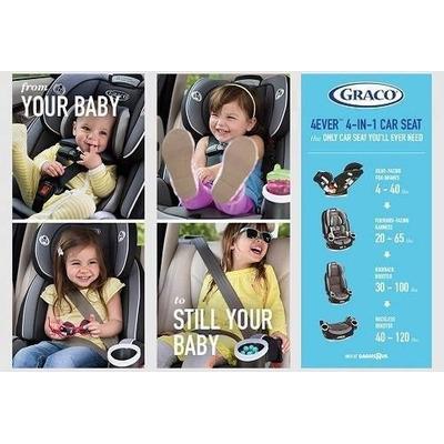 Silla de auto graco 4ever 4 en 1 en venta en santiago rm for Silla 4ever graco